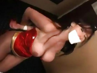 Busty slut gets chloroformed and molested by a freak BDSM