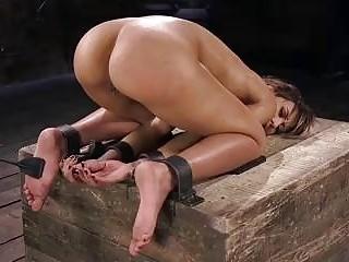 BDSM busty slave Demi Lopez makes a perfect fresh meat