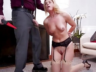 Momma and daughter puts into their place by horny stepdad