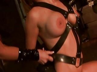 Hot pornstar babe Aletta Ocean in bondage BDSM wild compilation