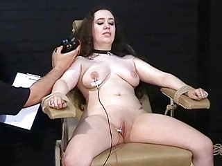 beefy pussy of a young white girl tortured and dominated