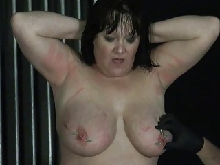 Delicious BDSM amateur sex for a bondage-loving brunette cutie babe