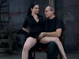 Extreme bondage porn with Damon Pierce and her BDSM master