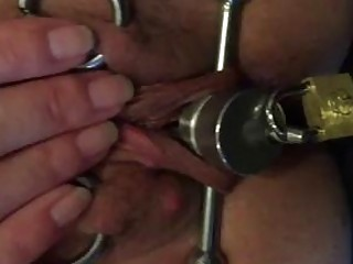 Hardcore pussy torture her cunt is molested with contraptions BDSM
