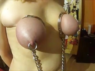 Her giant tits got handcuffed and whipped by master BDSM