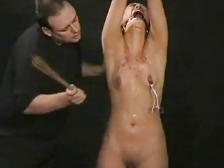 Sluty Asian girl enjoys being abused and extreme BDSM torture