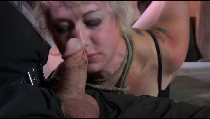 White Milf Sucks Black Cock